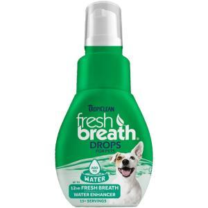 TROPICLEAN FRESH BREATH DROPS 52ML ΓΙΑ ΤΗΝ ΚΑΚΟΣΜΙΑ - 5023