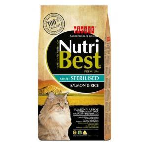 PICART NUTRIBEST CAT ADULT STERILISED SALMON & RICE 8kg - 1977