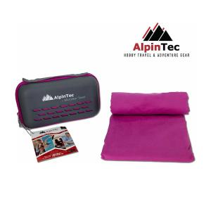 Πετσέτα Microfiber DryFast XXL 90x180 Purple Alpintec - 13512