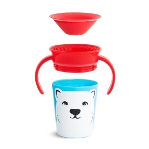 Εκπαιδευτικό Κύπελλο Miracle 360° Trainer Cup Polar Bear 177ml Munchkin - 15197