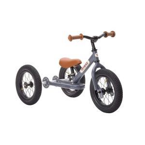 Τρίκυκλο που Μετατρέπεται σε Ποδήλατο Ισορροπίας Vintage Γκρι Trybike - 15355