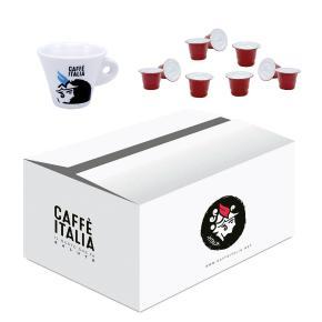 KIT CAFFE ITALIA CARUSO 100ΤΕΜ + ΔΩΡΟ ΦΛΥΤΖΑΝΙ ESPRESSO CAFFE ITALIA