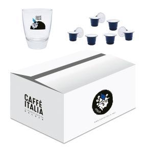 KIT CAFFE ITALIA MICHELANGELO 100ΤΕΜ + ΔΩΡΟ ΠΟΤΗΡΙ FREDDO CAFFE ITALIA