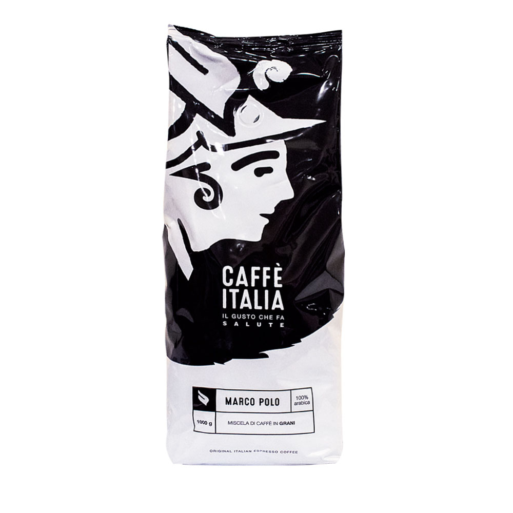 MARCO POLO ΣΕ ΚΟΚΚΟΥΣ 100% ARABICA CAFFE ITALIA 1Kg