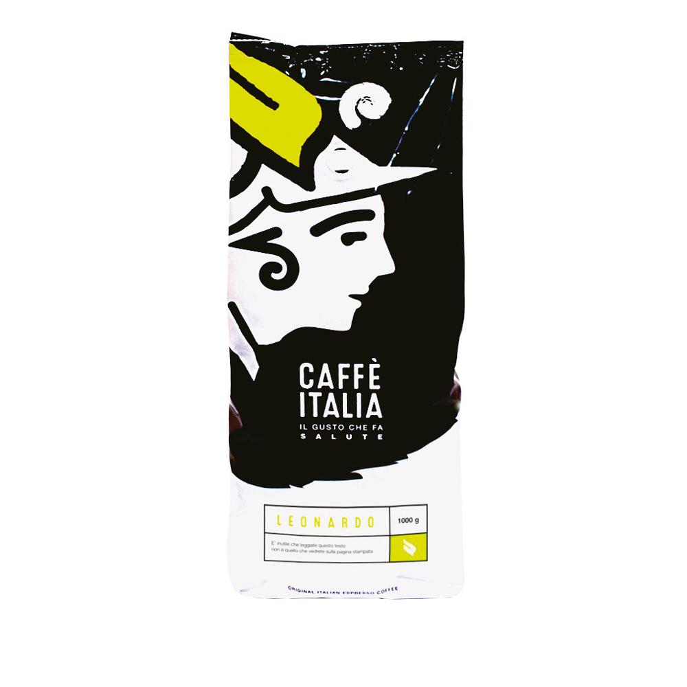 LEONARDO ΣΕ ΚΟΚΚΟΥΣ CAFFE ITALIA 1Kg
