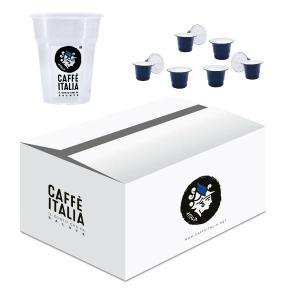 KIT CAFFE ITALIA MICHELANGELO 100ΤΕΜ + ΔΩΡΟ 50 ΠΟΤΗΡΙΑ FREDDO CAFFE ITALIA