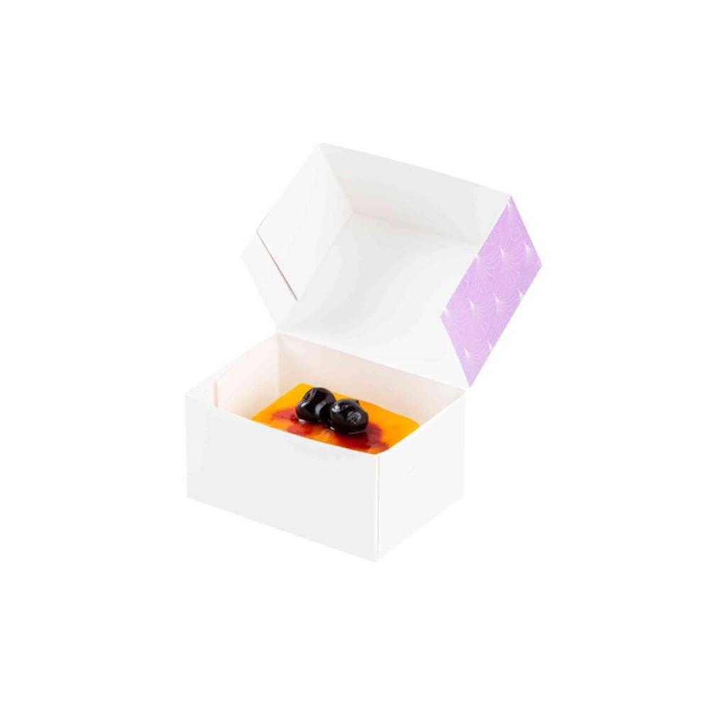 """ΚΟΥΤΙ ΖΑΧΑΡΟΠΛΑΣΤΕΙΟΥ No2 """"CAKE BOX"""" ΜΕ ΕΥΚΟΛΟ ΑΝΟΙΓΜΑ 14x10x7,5cm 25ΤΕΜ"""