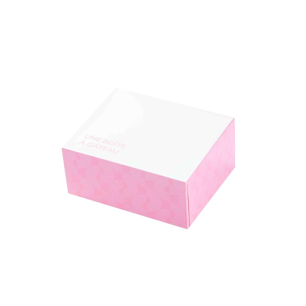 """ΚΟΥΤΙ ΖΑΧΑΡΟΠΛΑΣΤΕΙΟΥ No4 """"CAKE BOX"""" ΜΕ ΕΥΚΟΛΟ ΑΝΟΙΓΜΑ 16x14x8cm 25ΤΕΜ"""