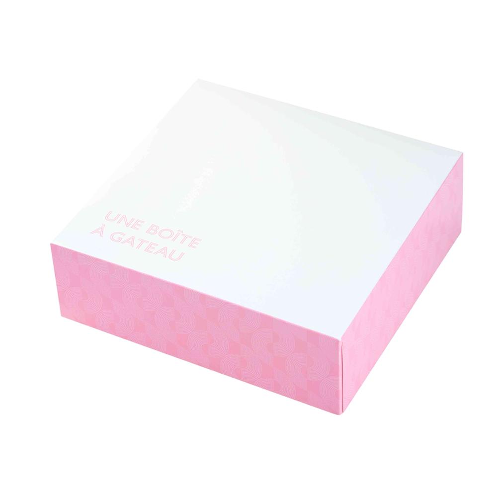 """ΚΟΥΤΙ No.15 """"CAKE BOX"""" ΜΕ ΕΥΚΟΛΟ ΑΝΟΙΓΜΑ 26x26x8cm (EASY OPEN) 25ΤΕΜ"""