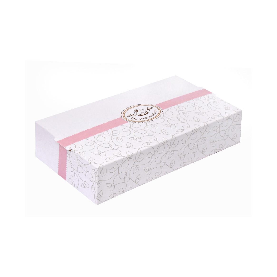 """ΚΟΥΤΙ ΧΑΜΗΛΟ S1 """"CAKE BOX"""" ΜΕ ΕΥΚΟΛΟ ΑΝΟΙΓΜΑ 24,5x13x5,5cm (EASY OPEN) 25ΤΕΜ"""