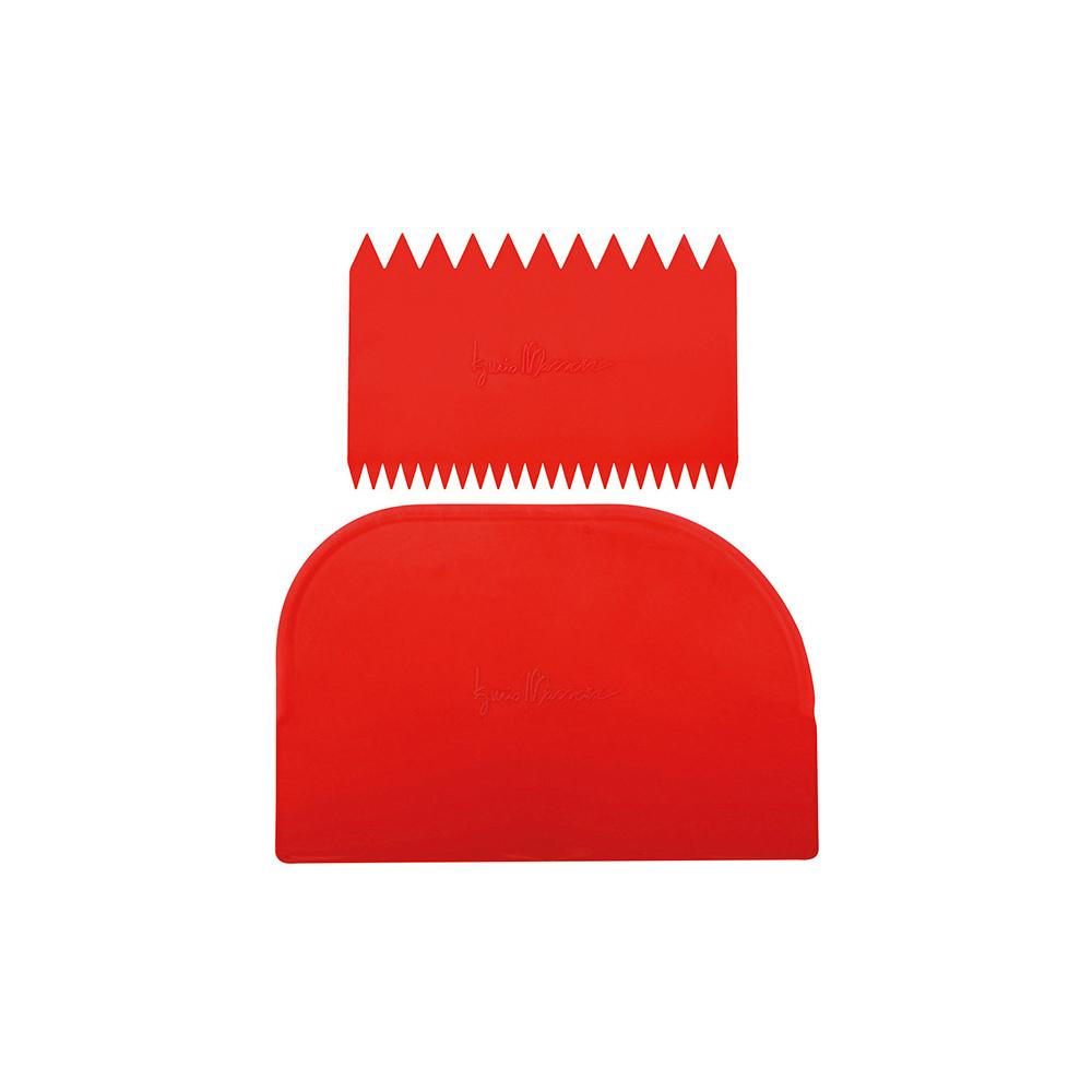 ΣΠΑΤΟΥΛΑ-ΚΟΠΤΗΣ ΖΥΜΗΣ (150x100mm) & ΧΤΕΝΙ (110x75mm) ΣΕΤ 2 ΤΕΜΑΧΙΩΝ
