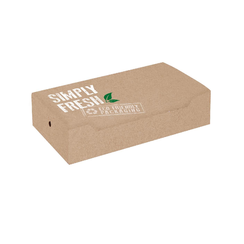 """ΚΟΥΤΙ ΓΙΑ CLUB SANDWICH """"GREEN LINE"""" ΜΕ ΕΥΚΟΛΟ ΑΝΟΙΓΜΑ 22x13x5,5cm (EASY OPEN) 25ΤΕΜ"""