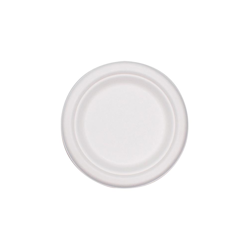ΠΙΑΤΟ ΛΕΥΚΟ ΒΙΟΔΙΑΣΠΩΜΕΝΟ ΑΠΟ ΖΑΧΑΡΟΚΑΛΑΜΟ 18cm 10ΤΕΜ